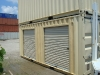 20' Container with Roll-up Doors
